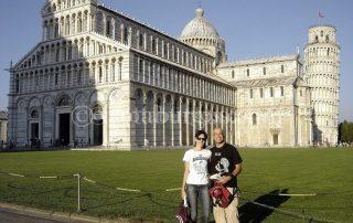 ARANCHA Y L. JORGE EN PISA
