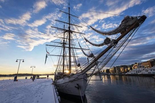 Oslo Haven Zeilschip