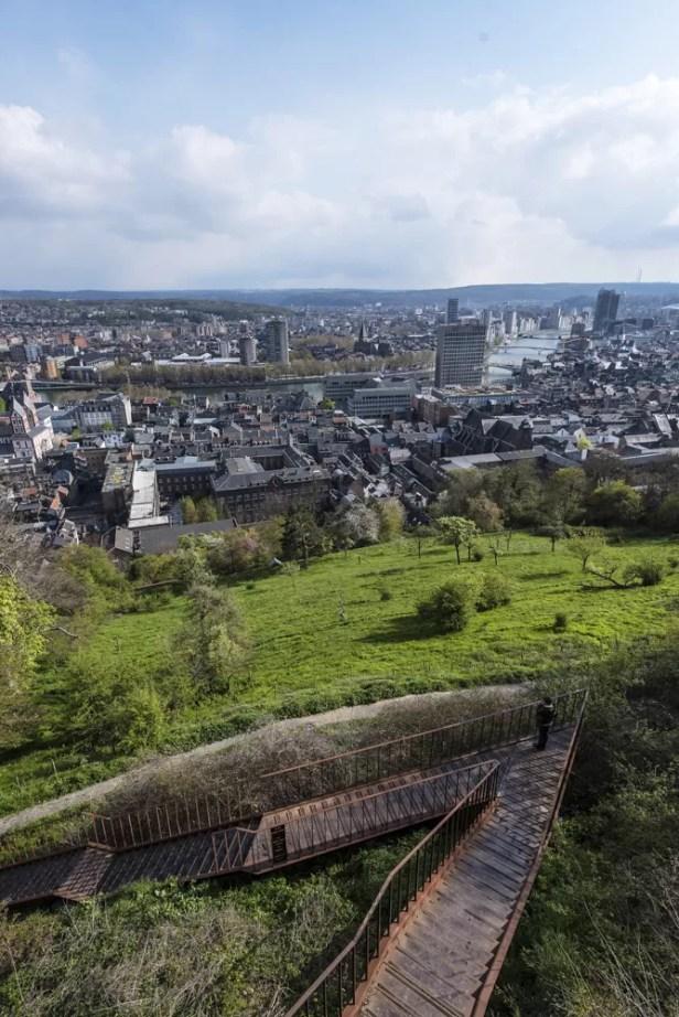 Wat te doen in Luik - Hellingen van de Citadel