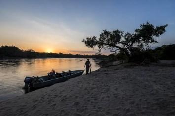 Wat te doen in Malawi: zonsondergang in Majete Wildlife Reserve