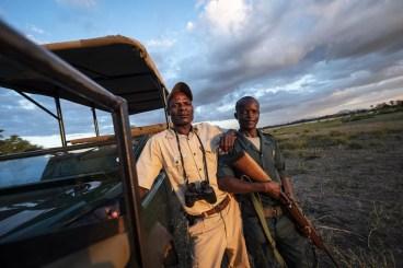 Mcloud de gids in Liwonde National Park