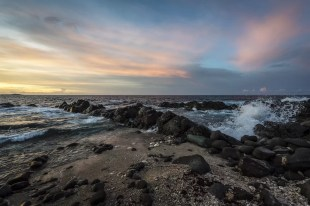 Mooie zonsondergang in Aruba