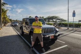 Jonathan Ramael voor Jeep Wrangler