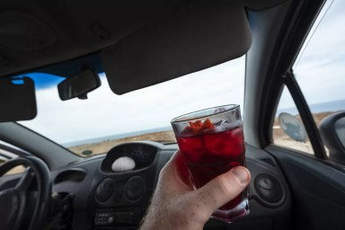 Cocktails drinken in Aruba