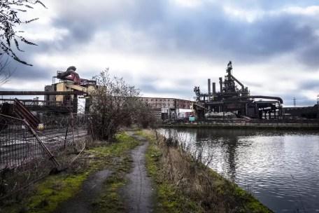 urbex factories in Charleroi