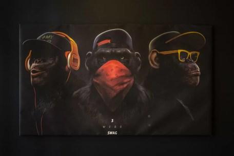 Monkeys Versiering