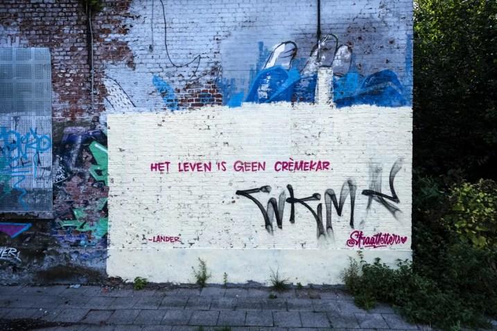 Haven van Antwerpen - Doel graffiti