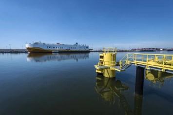 Haven van Antwerpen - Vopak schip