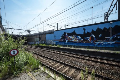 Street Art in Antwerpen - Cazn Berchem Station
