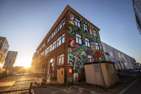 Street Art in Antwerpen - Eilandje Masterclass 2017 by Steve Locatelli