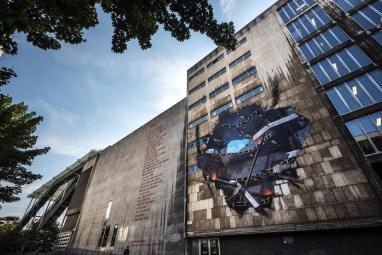 Street Art in Antwerpen - Remember by Artoon
