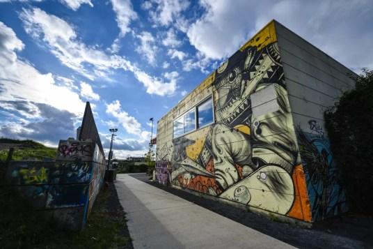 Wat te doen in Mechelen - Douaneplei graffiti