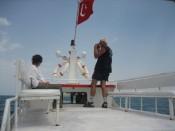 Boot naar eiland