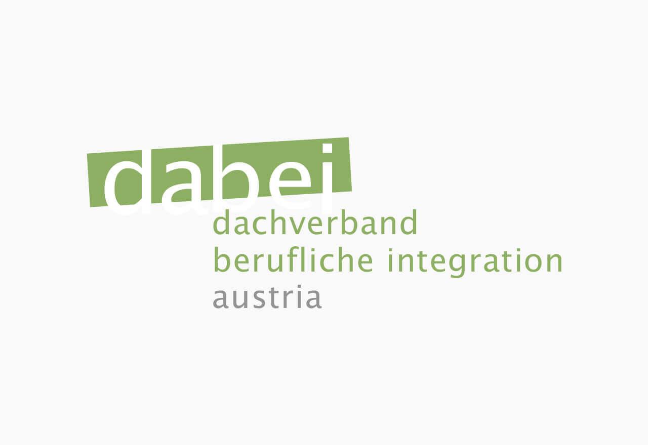 Das Logo von dabei-austria