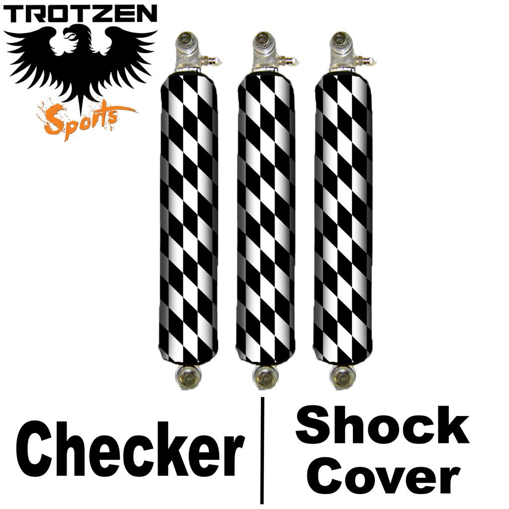 Yamaha Rhino Checker Shock Covers