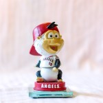 Baby Rally Monkey 2014 Angels Bobblehead