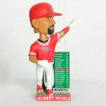 2017 Angels Albert Pujols 600 home run Bobblehead