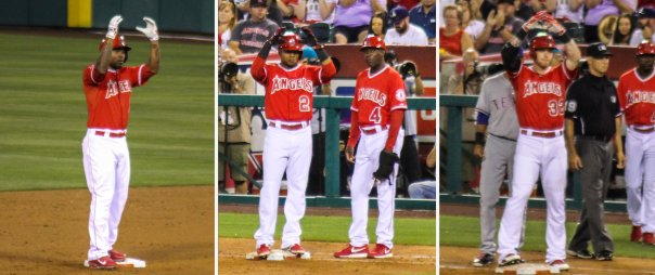 Howie Kendrick, Erick Aybar, Josh Hamilton We Are Together