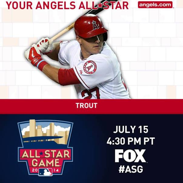 Mike Trout All Star Target Field
