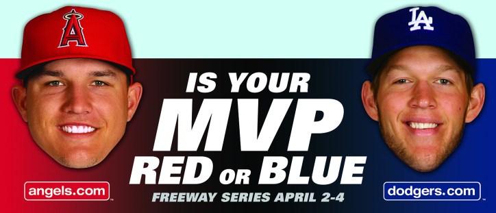Trout & Kershaw MVP Billboard