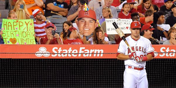Mike Trout's 24th birthday