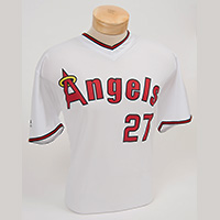 Mike Trout 80s' replica jersey