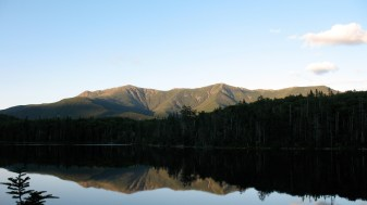 Lonesome Lake in NH