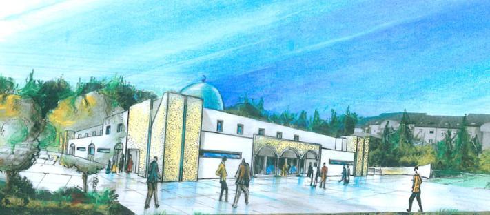 nouvelle vue1 La mosquée de Saint Louis sera éco responsable