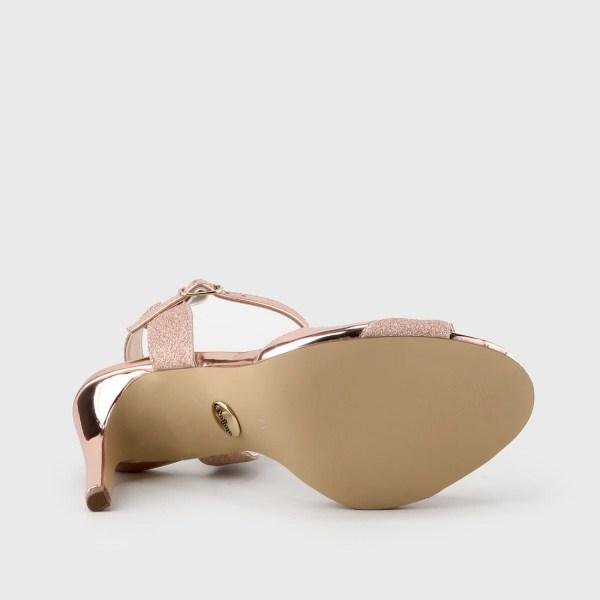 Ros&-gouden trouwschoenen Buffalo