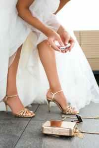 Open trouwschoenen