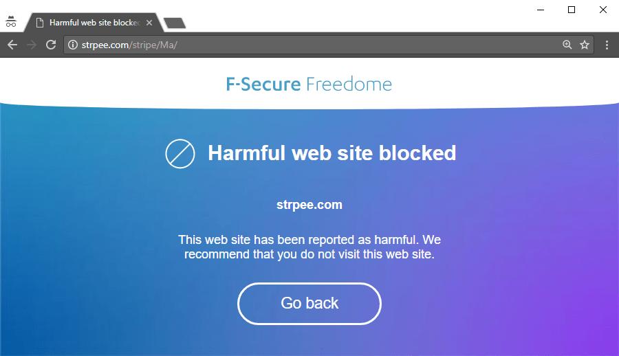 Freedome Phishing Protection