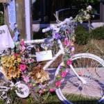 Ghost Bike at Dunlavy & Westheimer, Houston