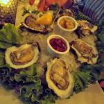 Oysters on the Half Shell at Gaido's, Galveston