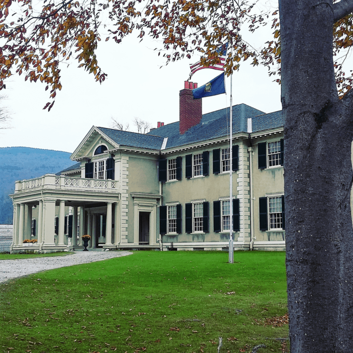 Hildene in Manchester, Vermont, was the summer home of the Lincolns.