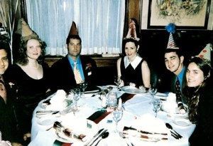 One memorable year I reserved a table at Commander's Palace and, as favors, made luxurious little birthday hats out of silk and mink and semi-precious stones and gilt ornaments.