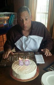 It is a rite of passage to have cake with Barry on a milestone birthday.