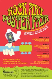 Rock Art Poster Fair April 28-29, 2012