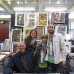 Wes Wilson, Jason Wilson of Laughing Man Studio, and family