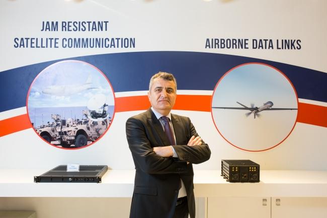 CTech Uydu Haberleşme Ürün Yöneticisi Derya Gürpınar. [Kaynak: Defence Turkey]