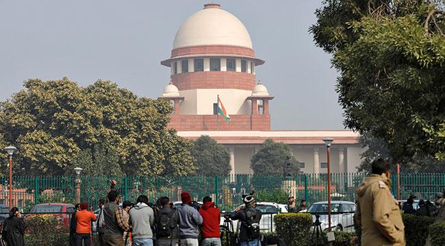 Hindistan'ın başkenti Yeni Delhi'deki Yüksek Mahkeme binası. Fotoğraf: Reuters