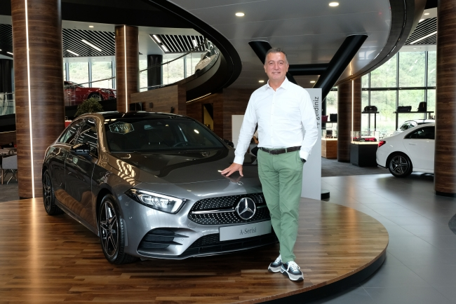 Mercedes-Benz Türk Otomobil Grubu İcra Kurulu Üyesi Şükrü Bekdikhan.