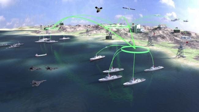 ADVENT yeni nesil Savaş Yönetim Sistemi sayesinde deniz üstündeki unsurların ortak bir ağ üzerinden bütünleşik olarak hareket edebilecek.