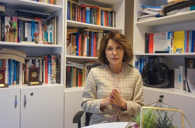 Bahçeşehir Üniversitesi Sosyoloji Bölümü Başkanı Prof. Dr. Nilüfer Narlı. Foto: AA