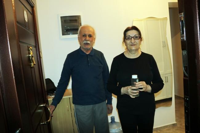 Dilşat ve Hüseyin Özer çifti   Fotoğraf: AA