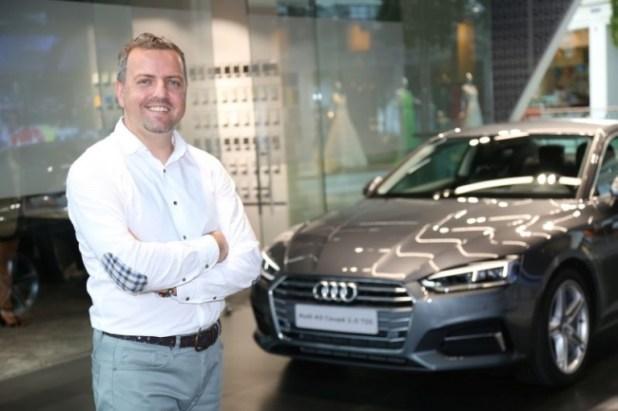 Audi Türkiye Pazarlama Müdürü Mustafa Uluer.