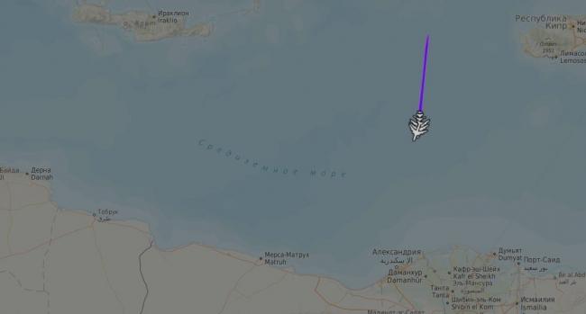 TSK'ya bağlı 3 tanker uçak ve 1 havadan erken ihbar/kontrol uçağı radar programlarında böyle görüntülenmişti.