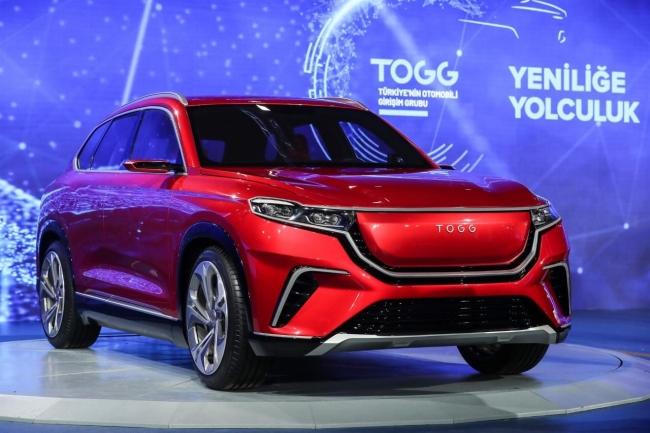 TOGG'un SUV modeli de büyük beğeni toplamıştı.