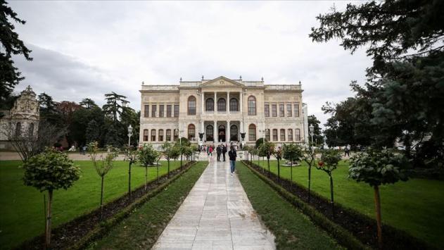 Dolmabahçe Sarayını 2019da 1 milyonu aşkın kişi gezdi
