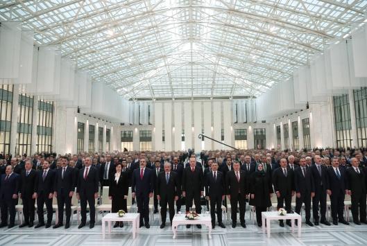 """Erdoğan, MİTin yeni hizmet binası """"KALE""""nin açılış töreninde konuştu"""