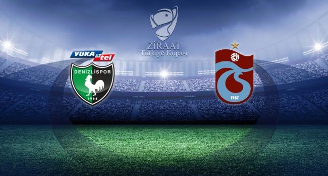 Trabzonspor Kupada Denizlispora konuk olacak